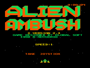 Скриншот: Alien Ambush